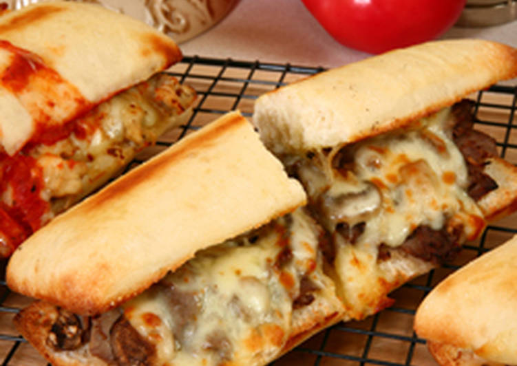 Step-by-Step Guide to Prepare Homemade Homemade Philly Cheese Steak Sandwich