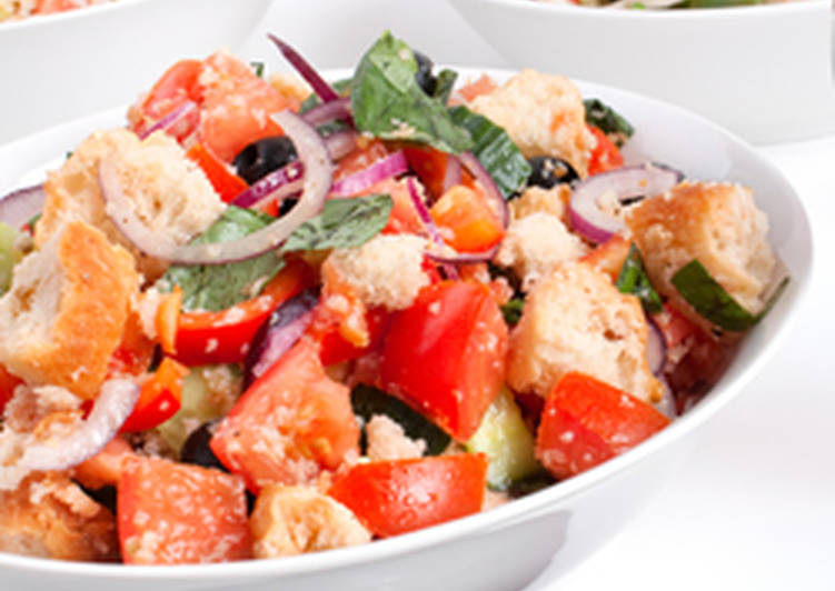 Use Food to Improve Your Mood Italian Bread Salad: Panzanella