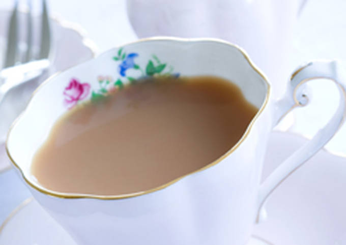 Spiced Milk Tea : Masala Chai
