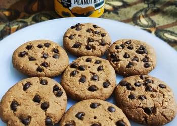How to Recipe Perfect Peanut Butter Cookies Eggless