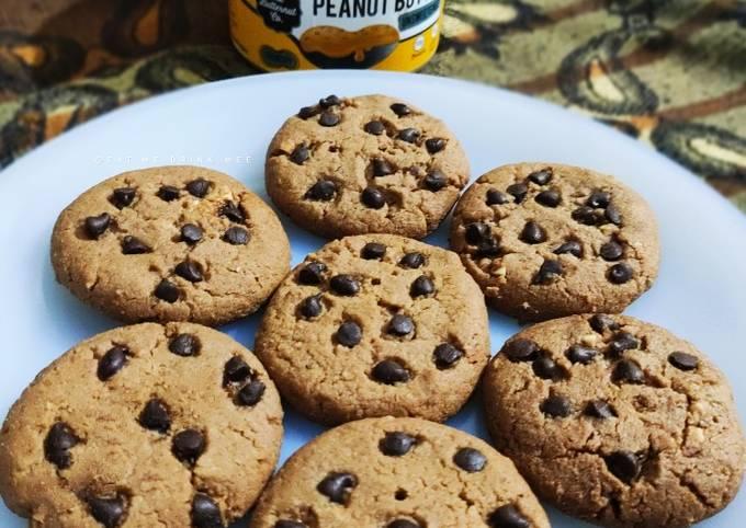Peanut Butter Cookies (Eggless)