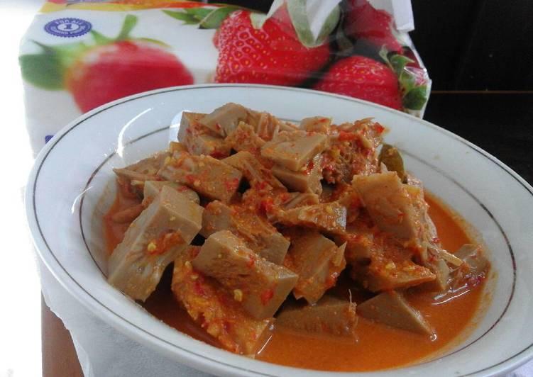 Gulai nangka pedas