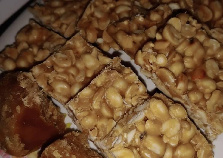 Recipe of Favorite Peanut chikki