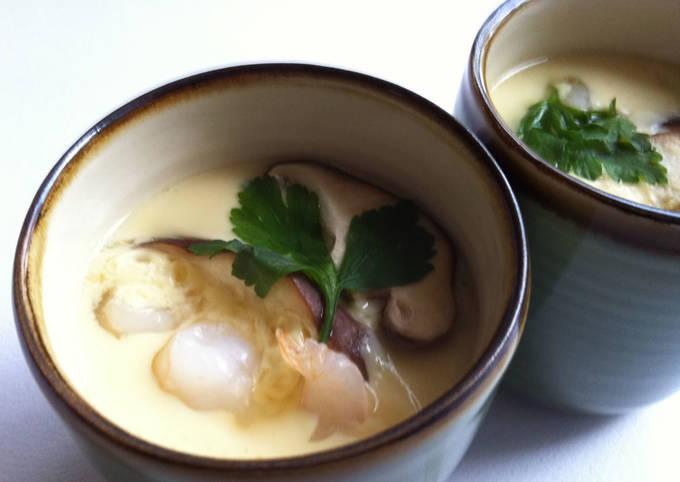 Steps to Make Award-winning Chawanmushi (Savoury Custard Soup)