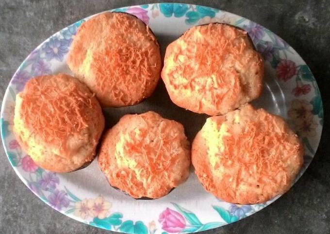 Resep Muffin Keju Manis Tanpa Mixer Oleh Nugrahayu Dewanti Cookpad