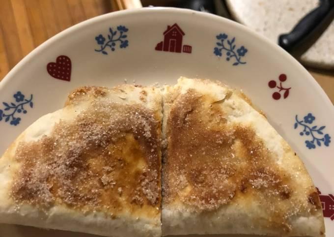 Nut butter & banana quesadilla