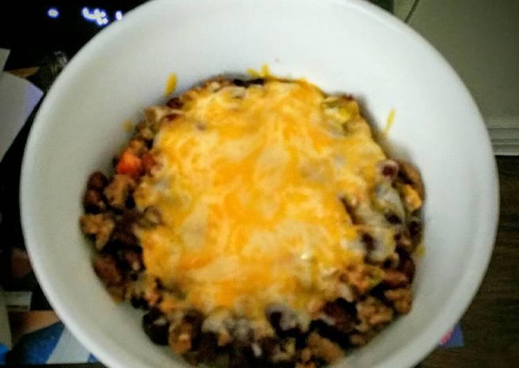 Cheesy Mexican Chili