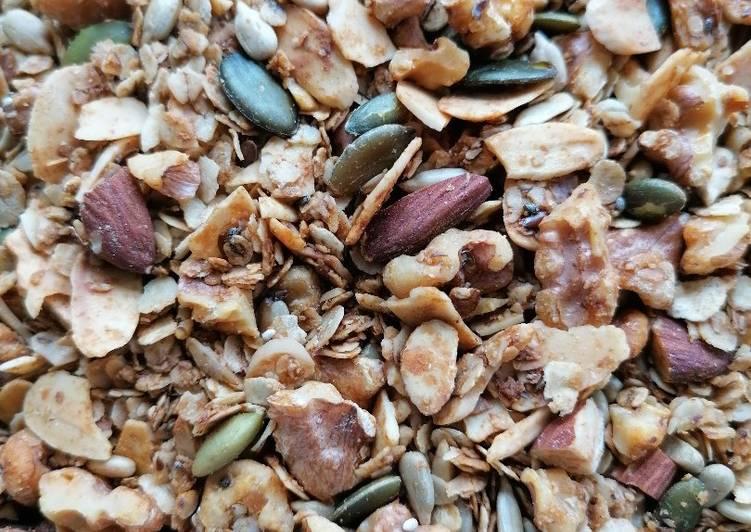 Easiest Way to Prepare Award-winning Homemade granola