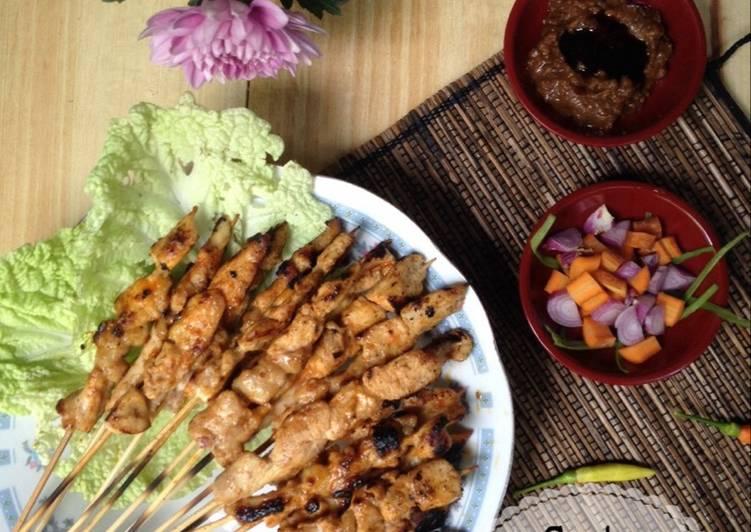 Resep Sate Ayam Oriental (super mudah) #kreasi_ayam Yang Populer Enak