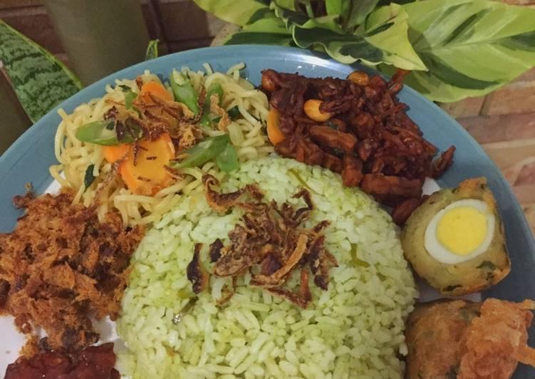 #9 Nasi Uduk Ijo (ricecooker)