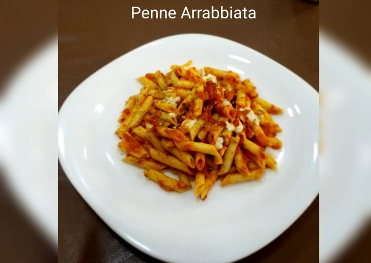 Simple Way to Prepare Homemade Penne Arrabbiata