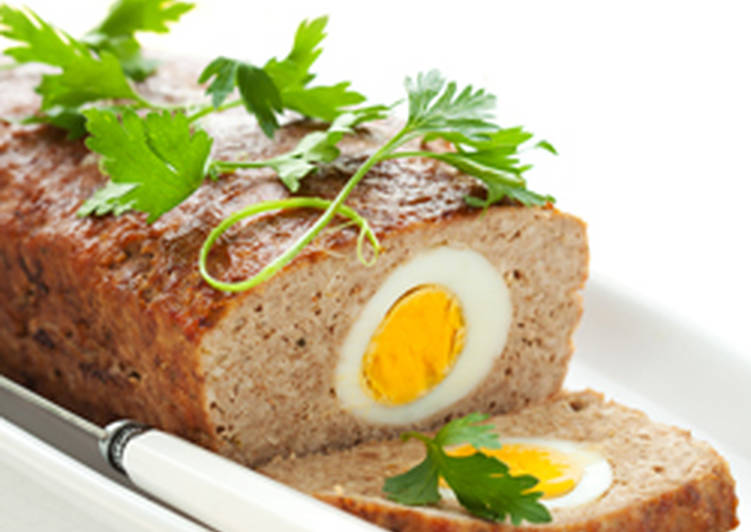 Meat Rolls with Egg Filling