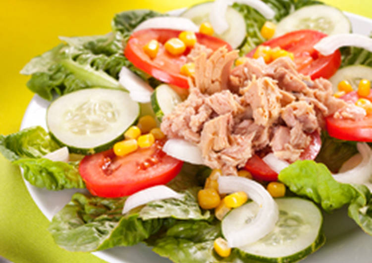 Light Tuna Salad Recipe By Carole Makhoul Hani Cookpad