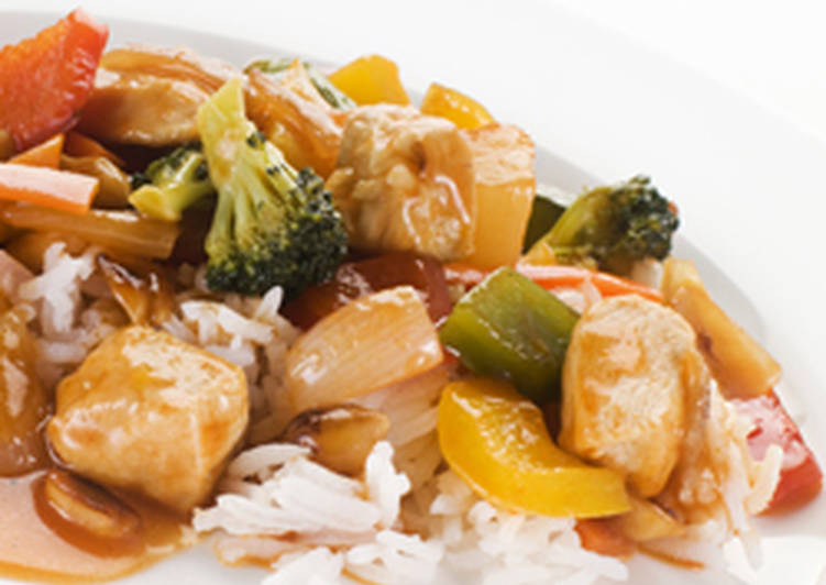 Easy Healthy Recipe: Appetizing Diet Chicken and Cashew Nuts
