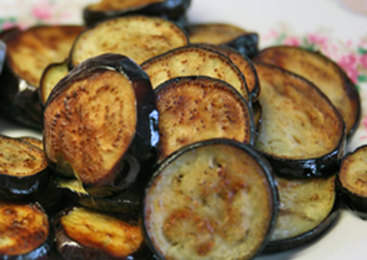 Fried Aubergine Recipe by dianak - Cookpad
