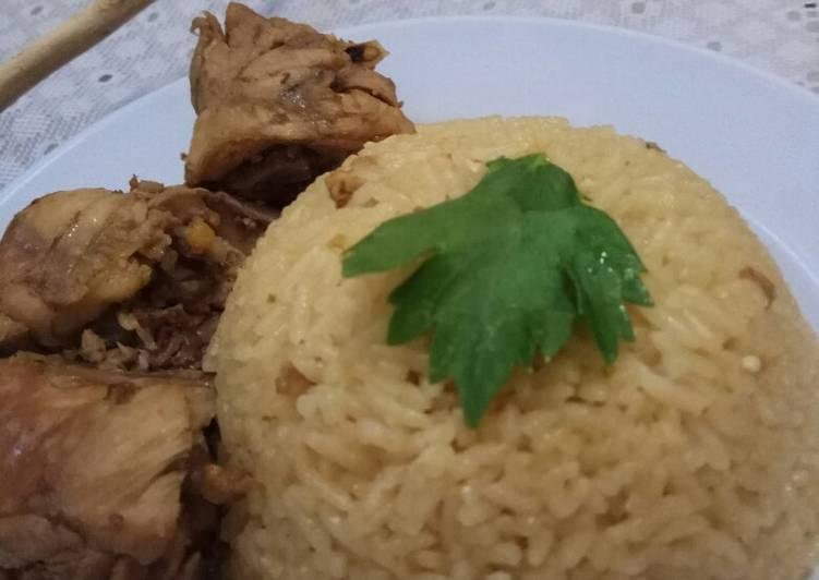 Nasi Hainan + Ayam Pek Cam Kee