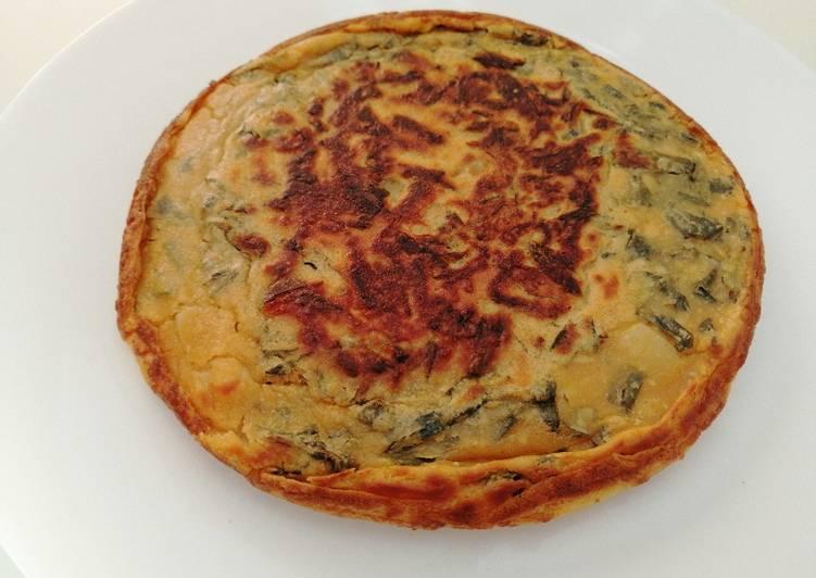 Vegan Spanish Omelette/Tortilla