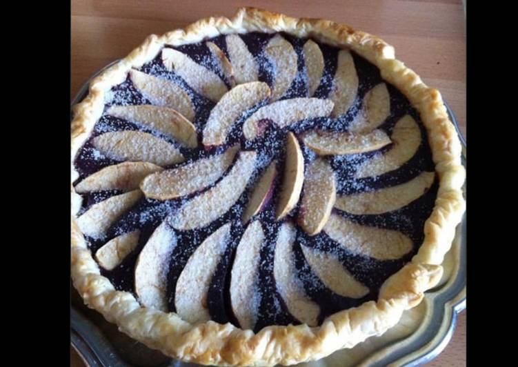 Recette Des Tarte myrtilles pommes et vanille