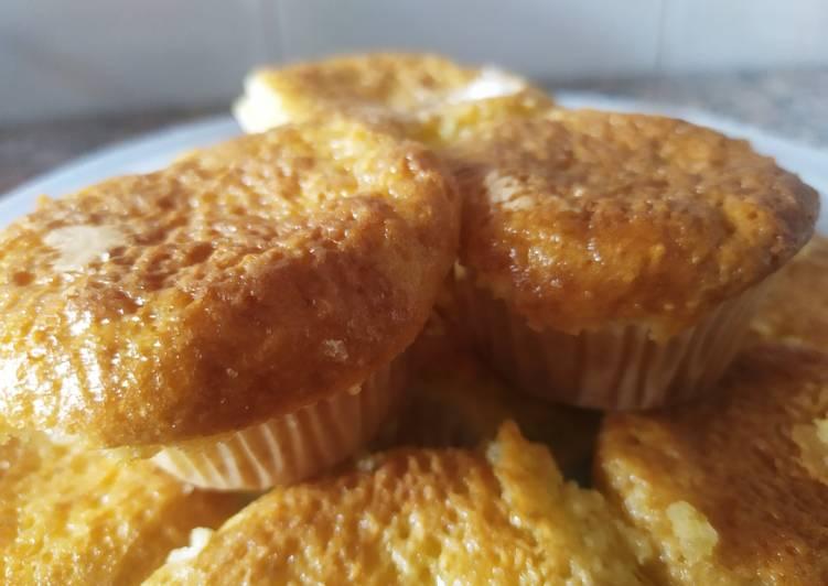 Magdalenas de almendra y limón en Mambo