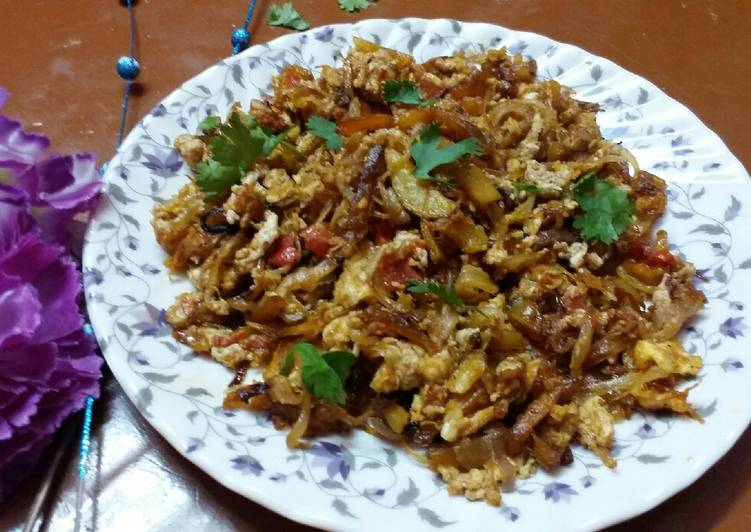 What are some Dinner Ideas Quick Egg and potato bhujia