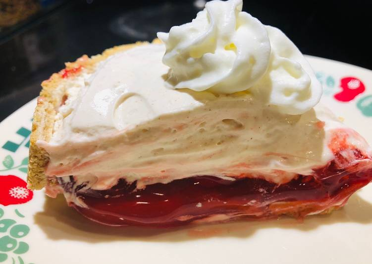 How to Prepare Tasty Inverted Holiday Cream Cheese Cherry Pie ????