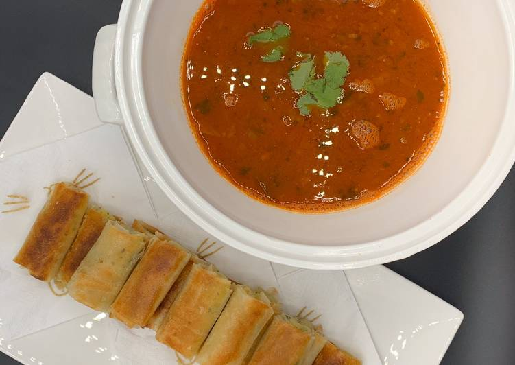 Soupe de crevettes à l'orientale (Çorba) 🇩🇿