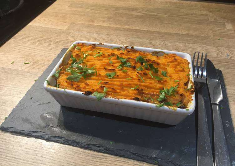 Recipe: Tasty Lentil cottage pie