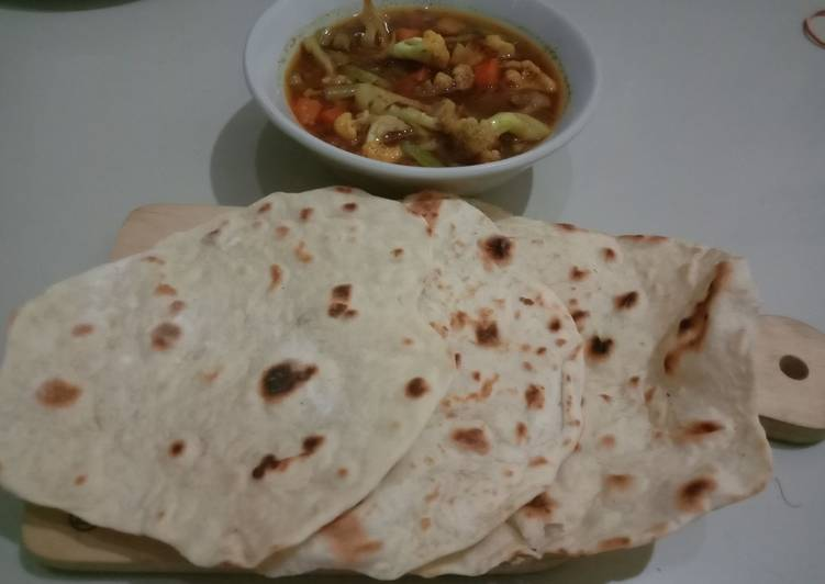 Capati Simple (Roti India)