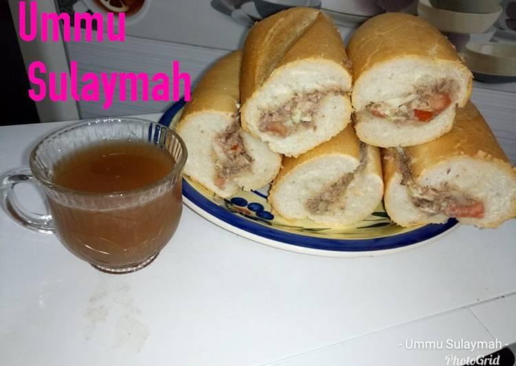 Turkish bread Sandwich