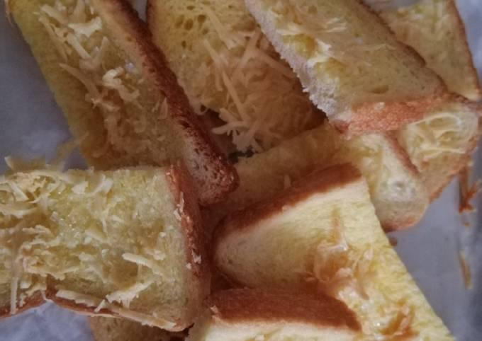 Resep Roti tawar panggang Anti Gagal