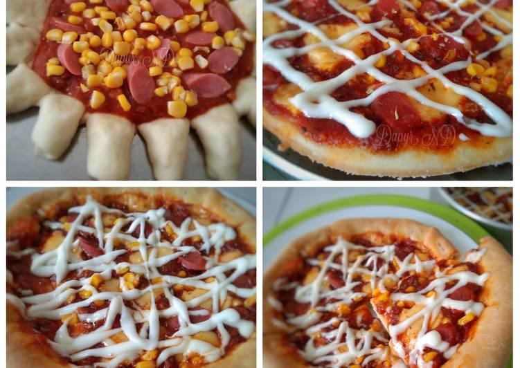 Pizza ala ala (Italian crispy pizza)