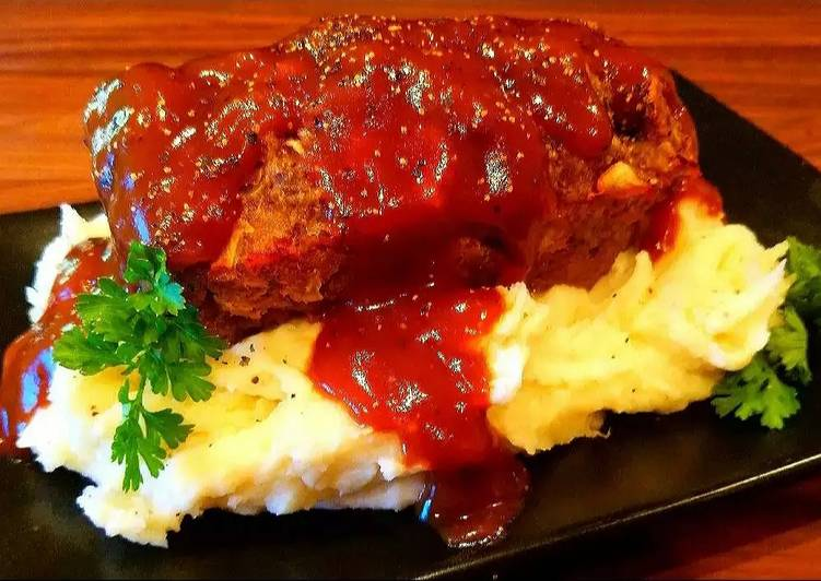 Simple Way to Make Quick Mike's 1970's Meatloaf Dinner