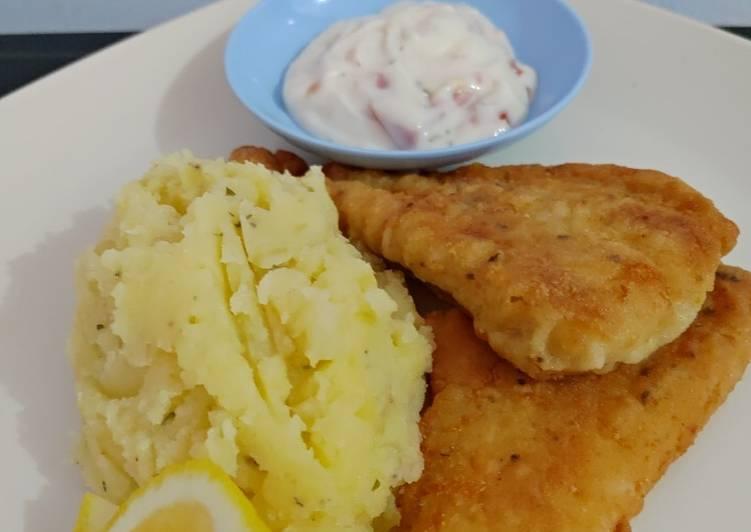 Fish & Chips Super Simpel