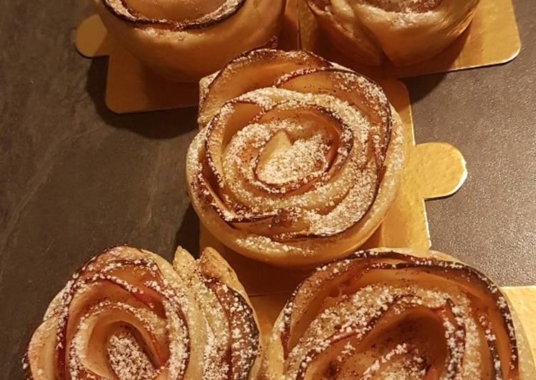 Mini tarte aux pommes revisité