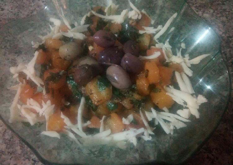 Salade des carottes