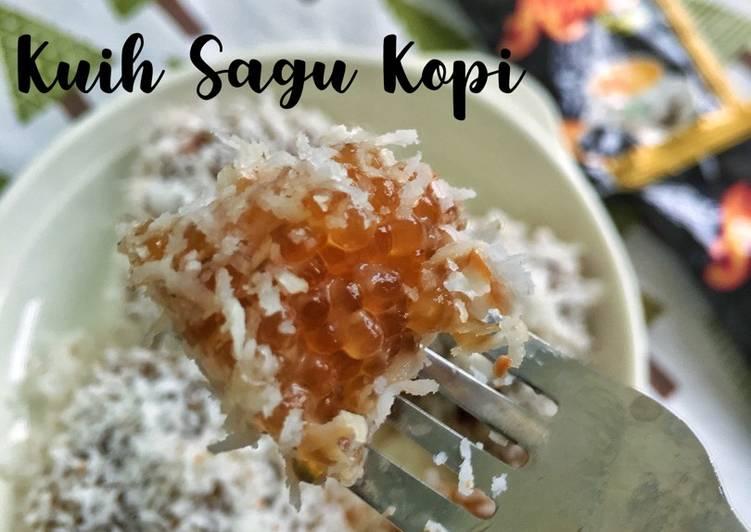 Kuih Sagu Kopi - resepipouler.com