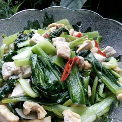 Resep Cah Caisim Dg Tahu Oleh Diannafooddiary Cookpad