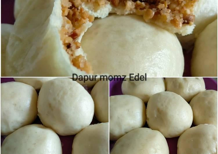 Resep Pao isi kacang uenaakk 😍 Paling Mudah