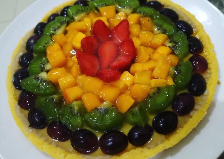 Pie Susu Buah Teflon