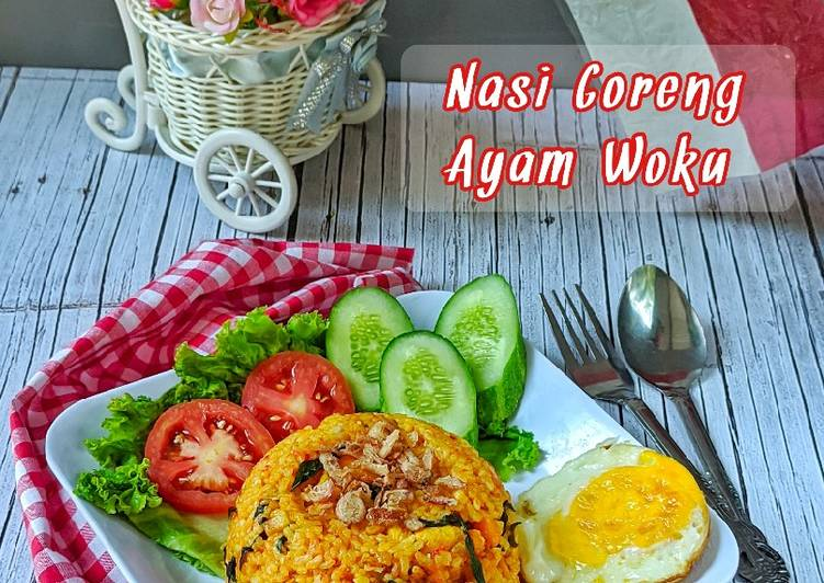 Nasi Goreng Ayam Woku