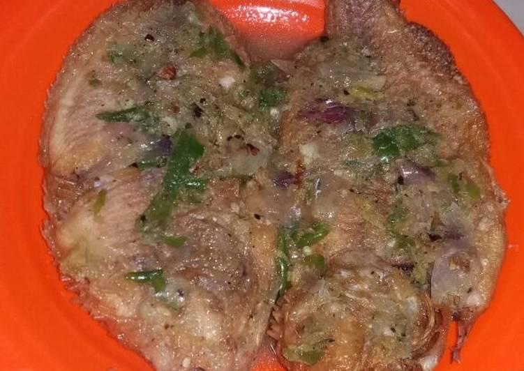 Resep Ikan Cobek Jahe yang Lezat Sekali