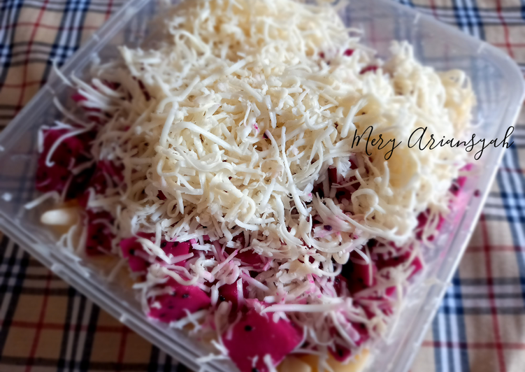 Salad Buah Creamy - cookandrecipe.com