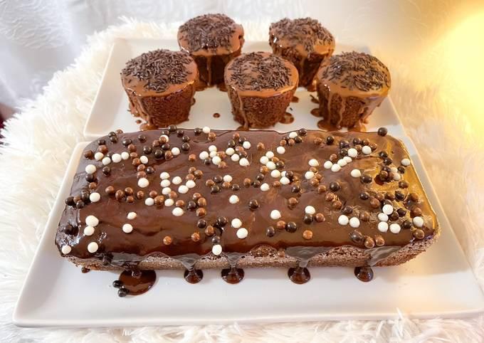 Gâteau ou cupcakes au chocolat. Une recette, des combinaisons illimitées