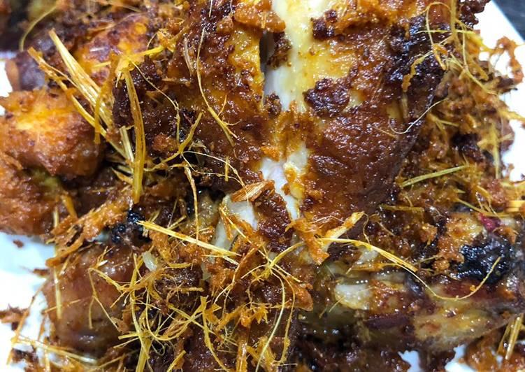 Resepi Ayam Goreng Rempah Serai