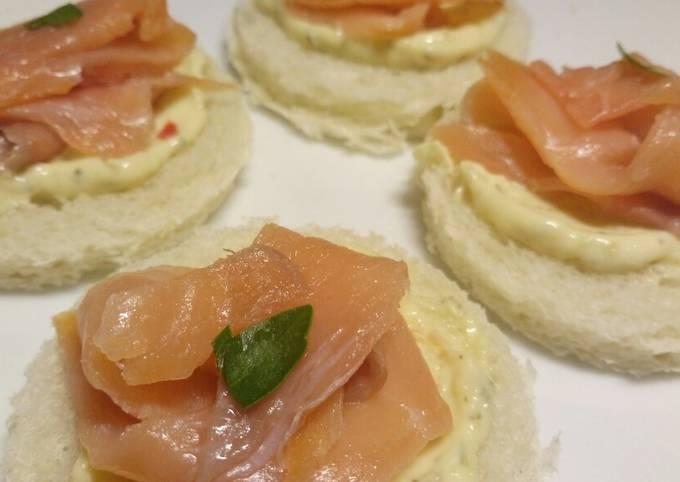 Recipe: Perfect Tartine di salmone