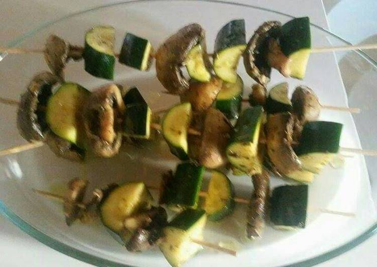 Brochette vegetarienne