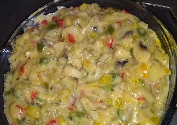 Easiest Way to Make Perfect Colourful Mushroom sauce
