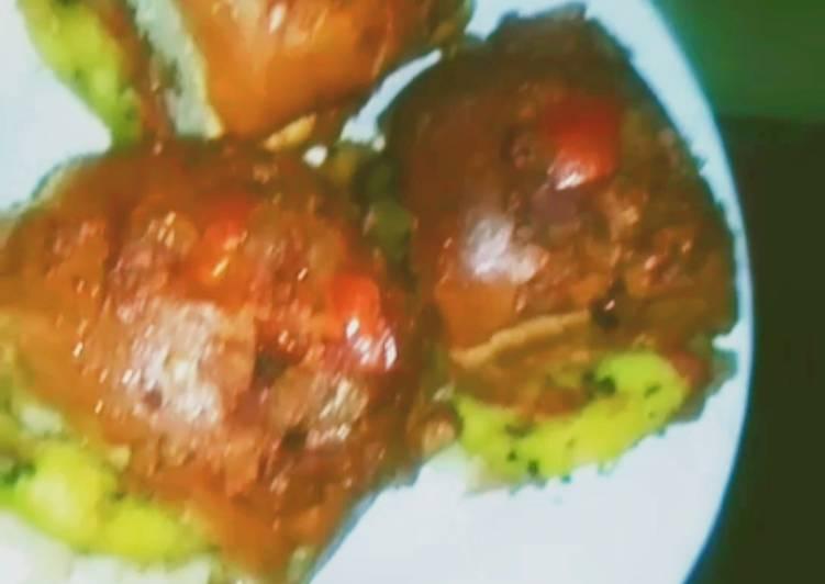 Baked masala Pattice Pav Burger my style