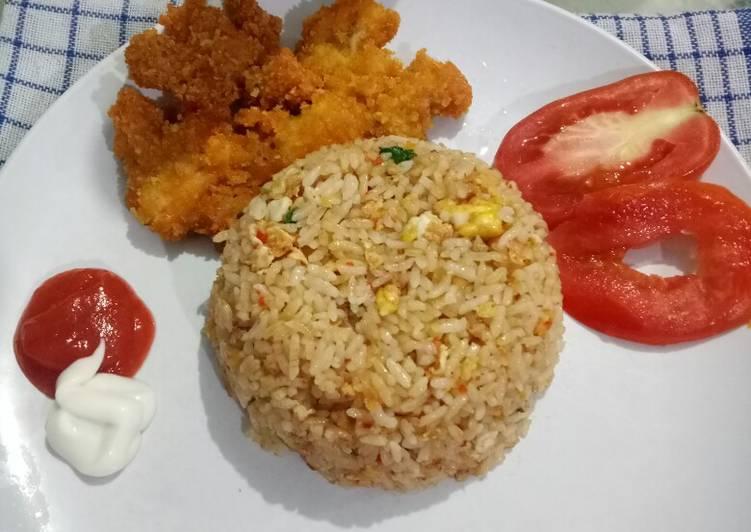Nasi Goreng Chicken Katsu