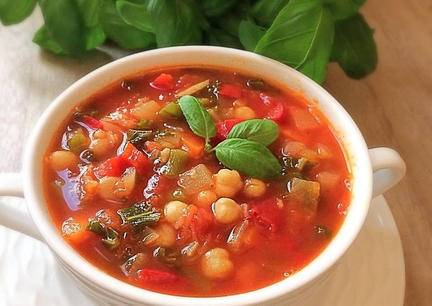 овощные супы без мяса рецепты с фото того
